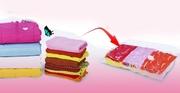 Вакуумные пакеты многоразовые для хранения белья,  одежды. Скидки до 20%.