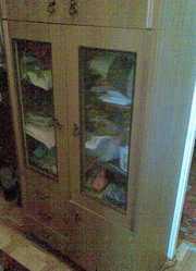 Продам шкаф,  комнатные цветы,  вяжу вещи на заказ в Актау