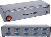 MVS-108 - Разветвитель видеосигнала VGA на 8 мониторов