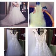 Продам свадебное платье. Модель айвори