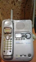 Беспроводной цифровой радиотелефон Panasonic KX-TG2247 c автоответом.