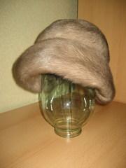 Норковая шапка женская новая продаю